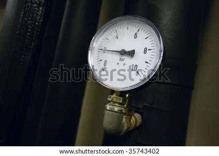 The industrial unit - stock photo