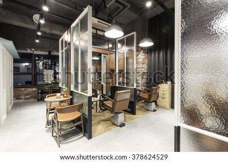 the interior of modernorganic vintage natural hair salonbeauty parlor - Salon Modern Evintage
