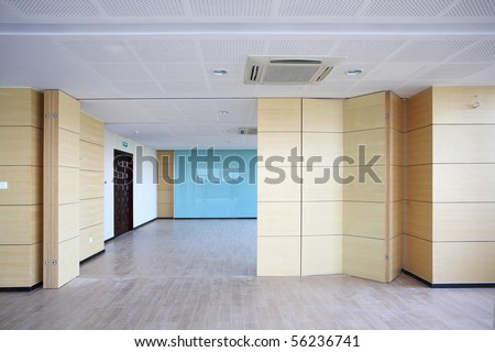 The internal structure of modern urban architecture - stock photo