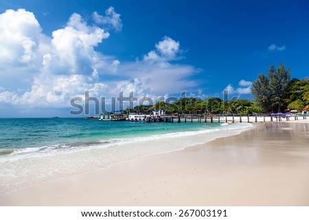 The island of Koh Samet in Thailand - stock photo