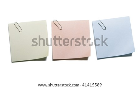 The isolated stickers - stock photo