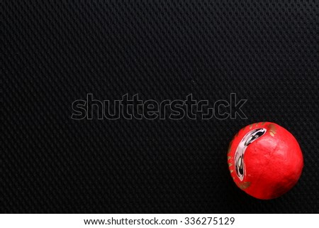 The japanese daruma doll represent the japanese cultural and belief concept related idea. - stock photo