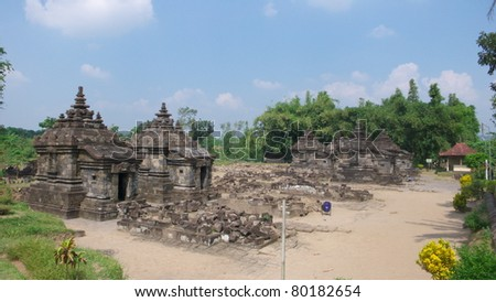 the javanese buddhist temple of candi plaosan kidul