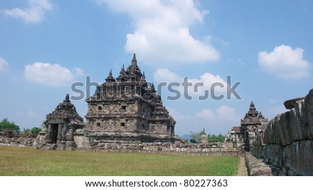 the javanese buddhist temple of candi plaosan lor