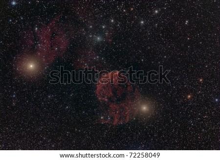 The Jellyfish Nebula - stock photo