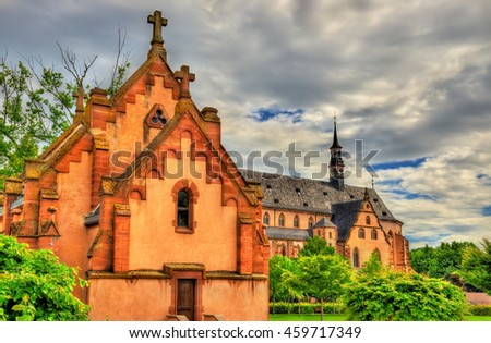 The Jesuit Church in Molsheim - Alsace, France