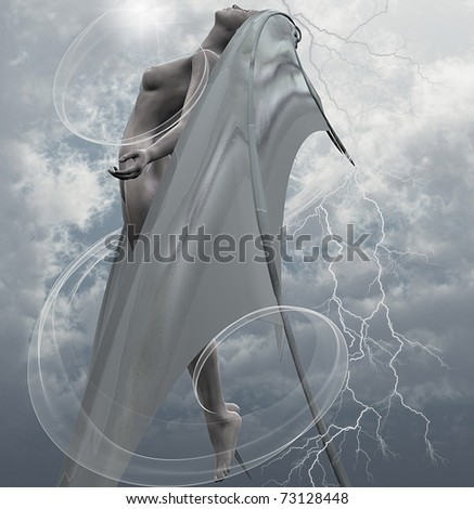 Evil angel stock images royalty free images vectors shutterstock - Free evil angel pictures ...