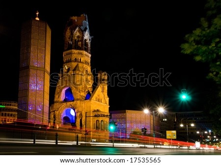 The Kaiser Wilhelm Memorial Church, Berlin's landmark