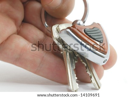 The key in the palm