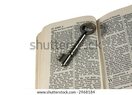 The Key to Heaven - stock photo