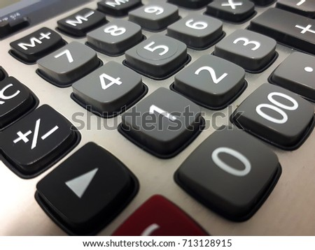 The keyboard calculator will highlight some pictures and be the background image.