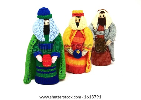 the 3 kings - stock photo