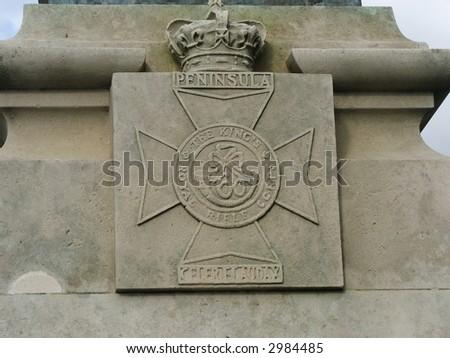 The Kings Riffles (Medal) - stock photo