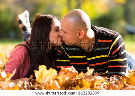 The Kiss - stock photo
