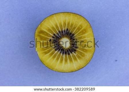 The Kiwi is called the soft fruit of several species of Actinidia