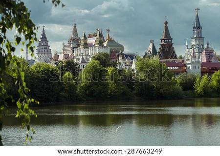 The Kremlin in Izmailovo. Moscow  - stock photo