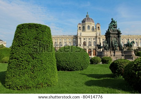 The Kunsthistorisches Museum (Museum of Fine Arts) in Vienna, one of the most famous musea in the world