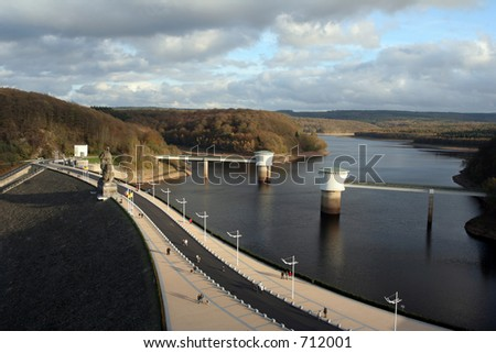 The La Gileppe dam in Belgium