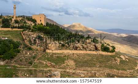 The landscape of Mardin , Turkey - stock photo