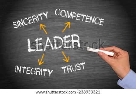 The Leader - Business Concept - stock photo