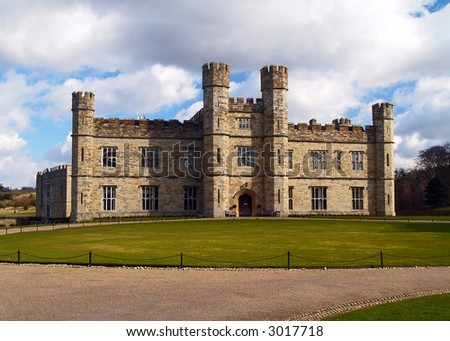 The leeds castle at England