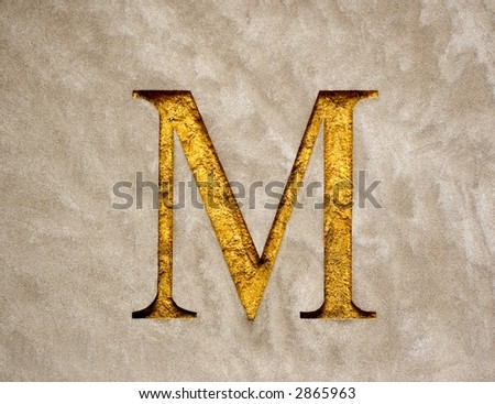 Embossed letters stock photos images pictures for Embossed letters