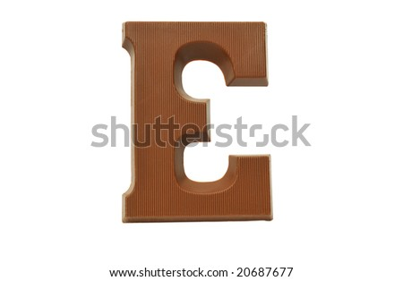 The letter S, special candy for the Sinterklaas celebration - stock photo
