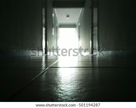 The light at the end of hallway.
