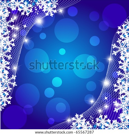 The  light  blue Christmas background