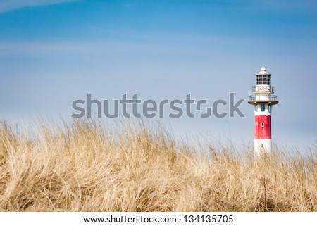 The lighthouse - stock photo