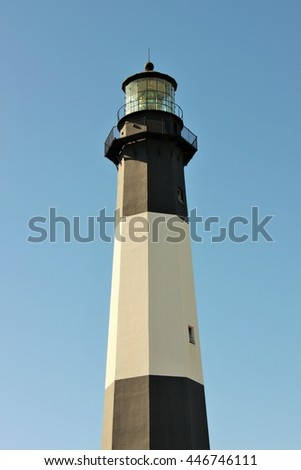 The lighthouse on Tybee Island Georgia offers tours.
