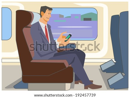 The limited express inside - stock photo