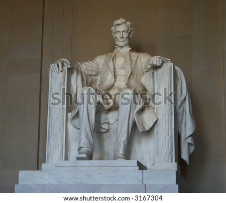 The Lincoln Memorial in Washington DC - stock photo