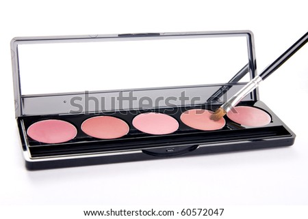 The lipstick for makeup - stock photo