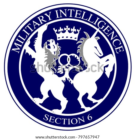 The Logo Of British Military Intelligence Division 6