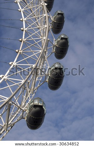 The London Eye - stock photo