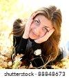 The lovely girl - stock photo