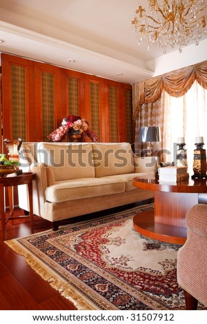 The Luxury Expensive Living Room Interior