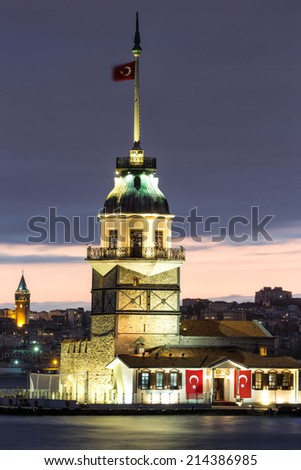 The Maiden's Tower - stock photo