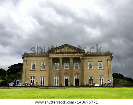 The Mansion, Roundhay Park, Leeds, Yorkshire, UK - stock photo