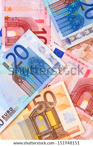 The many Money . Euro