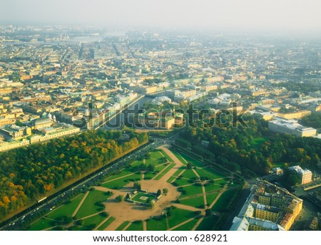 The Marsovo Pole (the Field of Mars) - Saint Petersburg [#4920] - stock photo