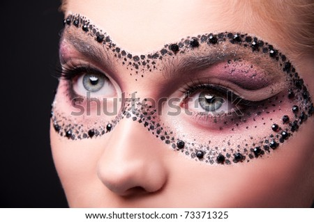 the mask - stock photo