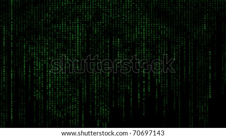 The Matrix with numbers