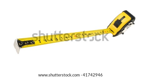 The measuring tool. It is isolated on a white background