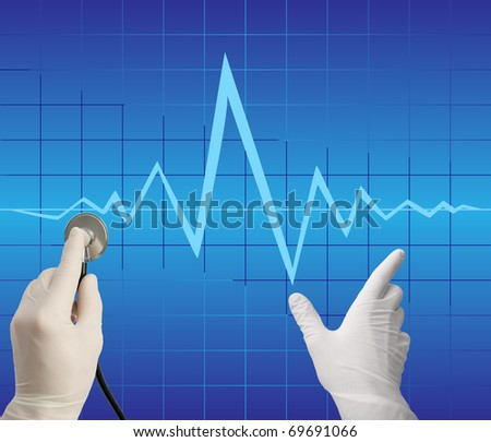 The medical aid concept - stock photo