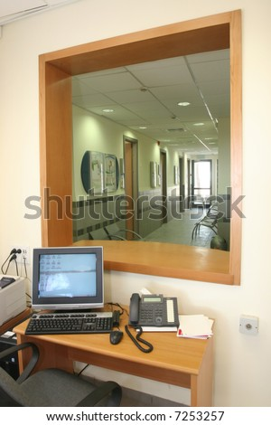 The medical center - stock photo