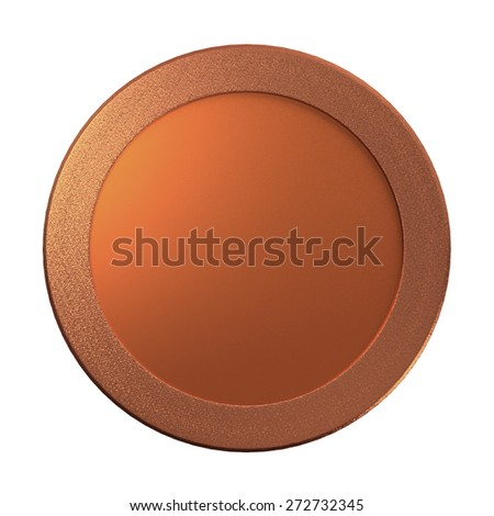 The metal of medal for the prize concept - stock photo