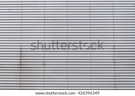 The metal wall texture background. - stock photo