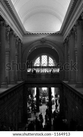 The metropolitan Museum Of Art - stock photo